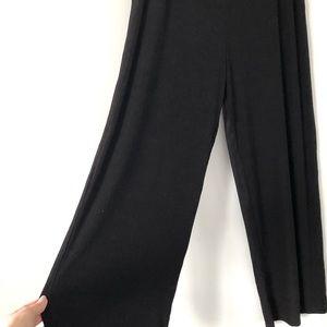 NWT Picadilly Wide Leg Flowy Pull On Gaucho Pants